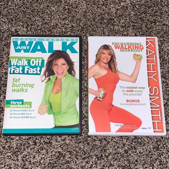 leslie sansone Other - Walking Workout DVDs Bundle